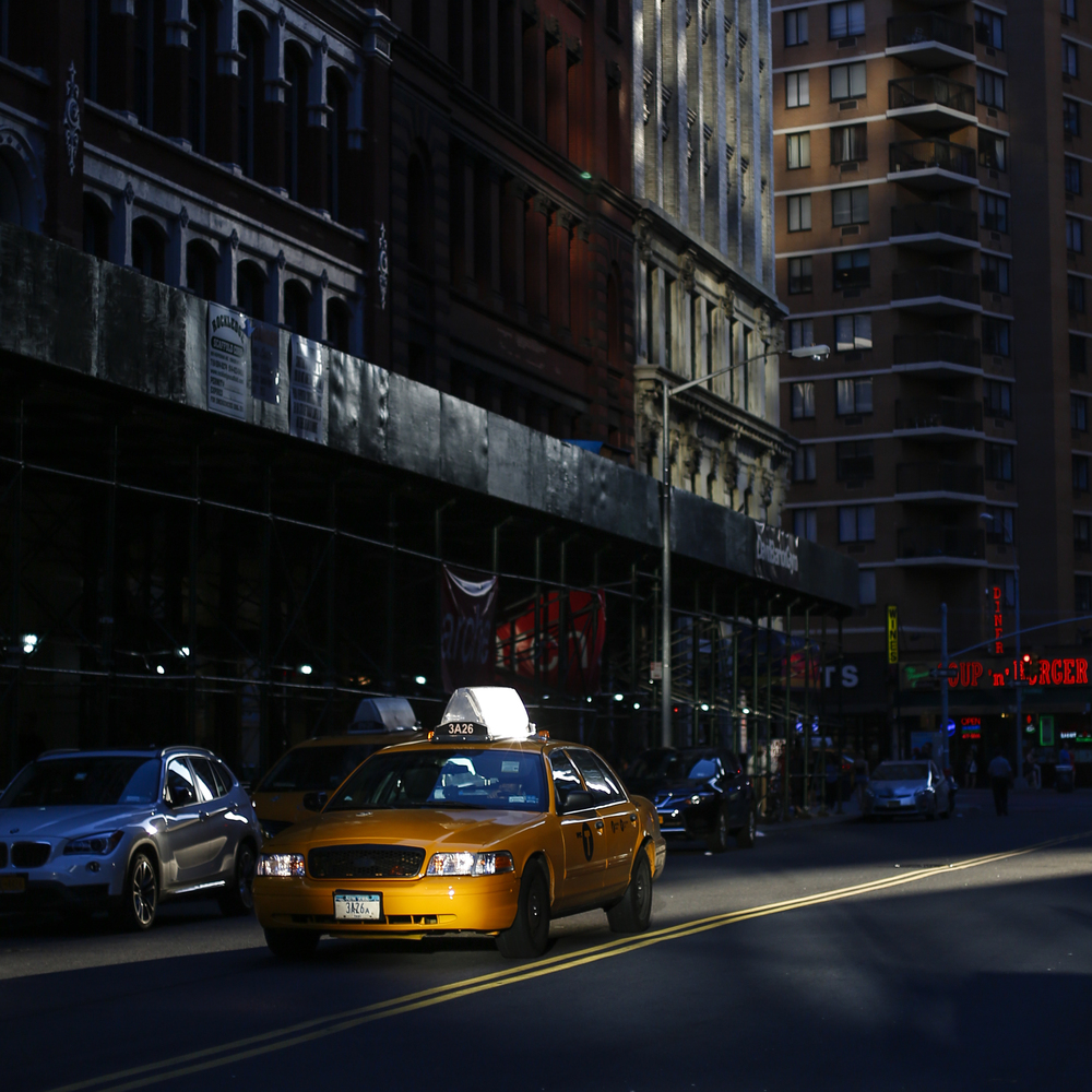 A cab in Astor Place on Tuesday July 5, 2013.