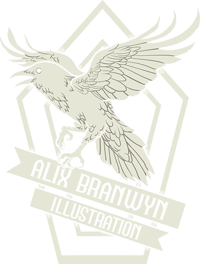 Alix Branwyn Illustration