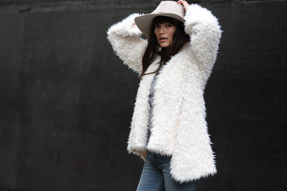 DELACY KENNEDY COAT LONG PILE FUR.JPG