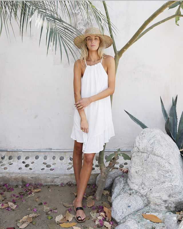 Dressing for spring made easy in the Haven dress 🌿