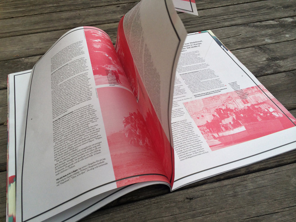 Fragment magazine · Studio Daniela Juvall