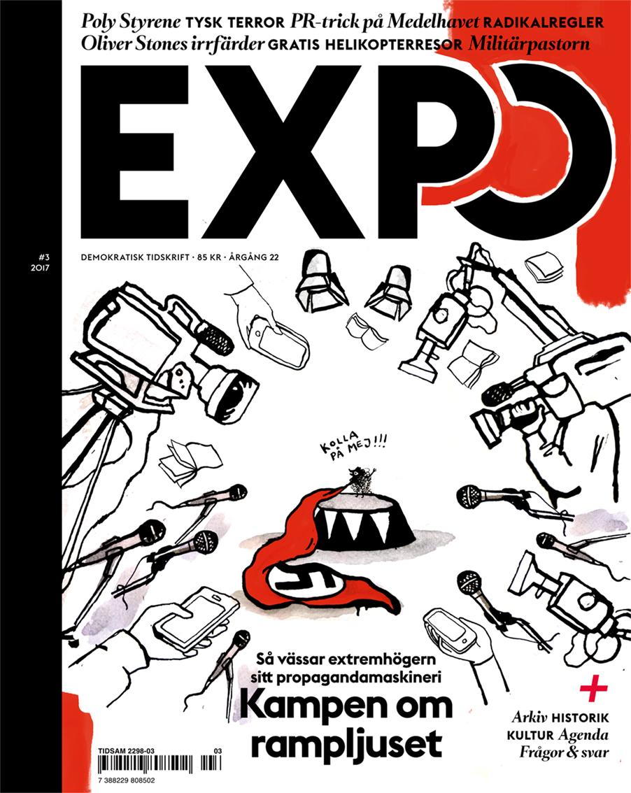 Expo #3-2017  Art direction and graphic design. Illustration: Ritklubben.