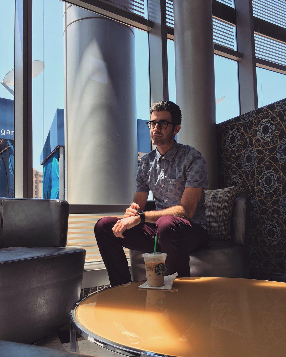#applewatchselfie: JW Starbucks