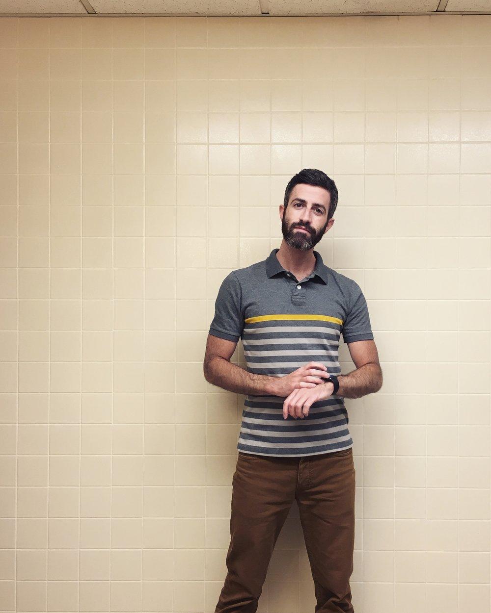 #applewatchselfie: Men's Room