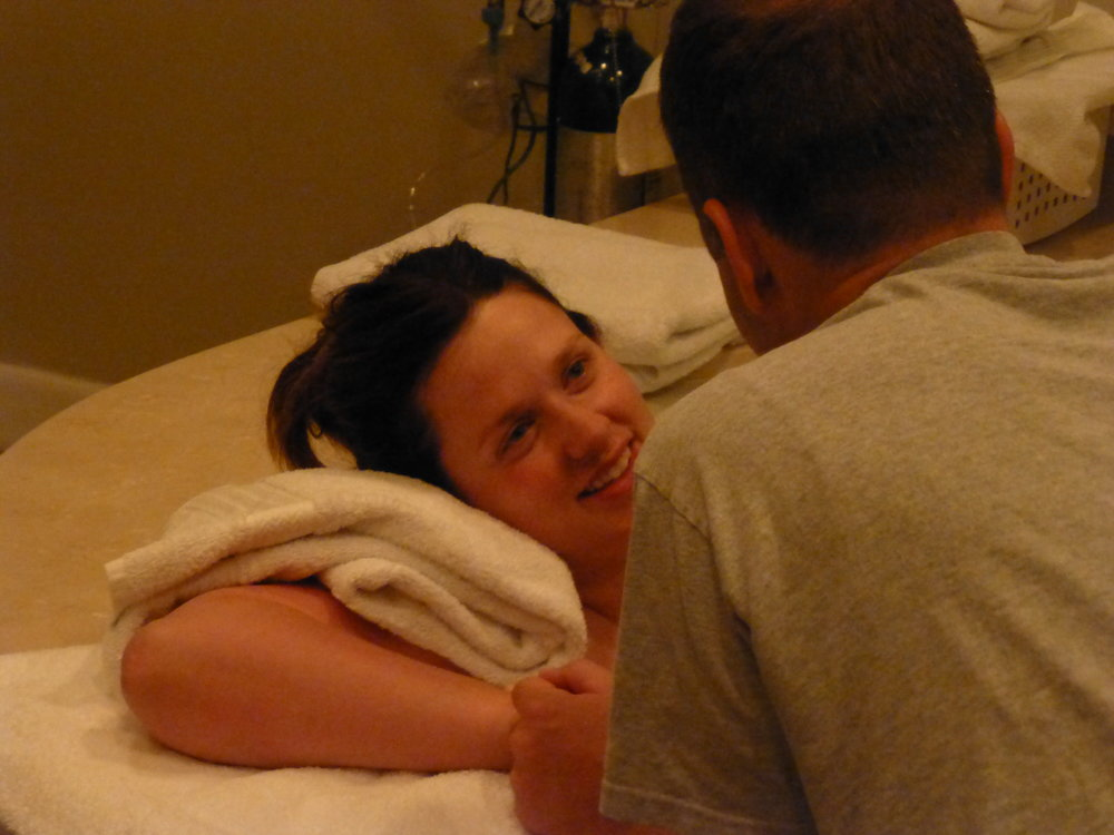 birth center salt lake city utah midwives waterbirth water birth joy love mom dad