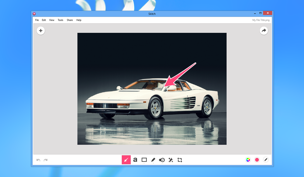 Overview mockup of the interface. Bonus points if you recognize the car. =)
