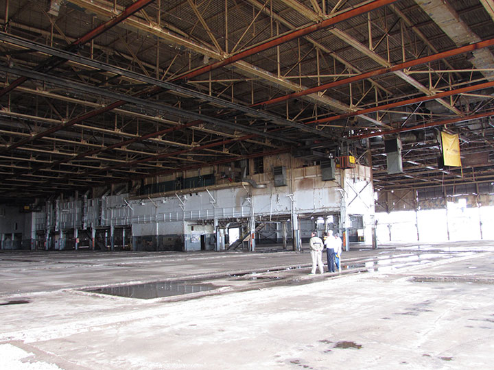 "ALthough a portion of the factory has been ""saved,"" there is still much work to be done to turn it into a museum."