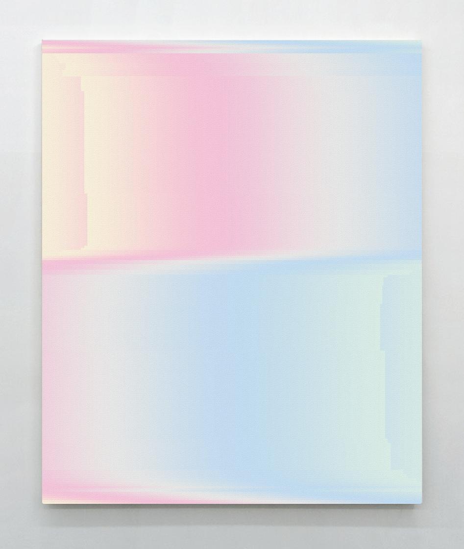 Manuel Fernandez, BG Painting 11, 2014, 81 x 100 cm