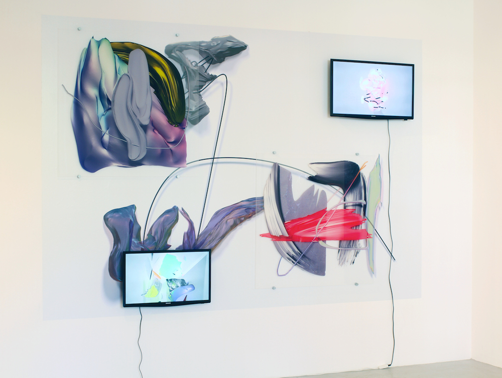 Vince Mckelvie,  Site Specific Augmentations , 2016, Anna Jill Lüpertz Gallery, Berlin