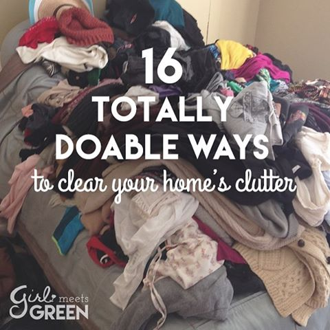 Latest post on the blog! Check out a few tips that have been helping us clear the junk out of our house and many more that I hope will help you too!  #clearingtheclutter #springcleaning #declutter
