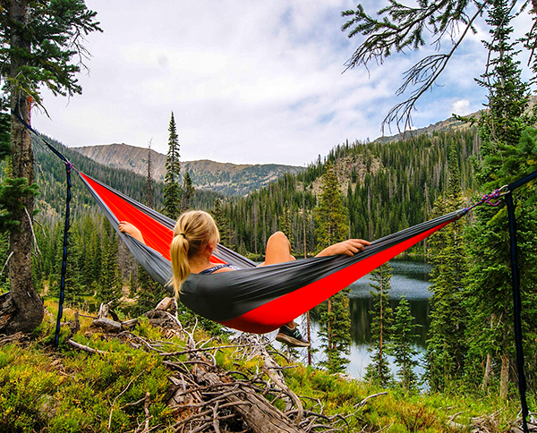 Put away your phone, unplug, and get into nature.