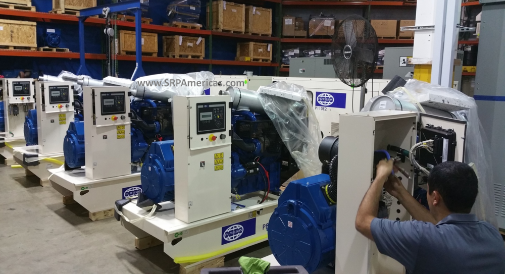 FG Wilson Gensets ready to ship.