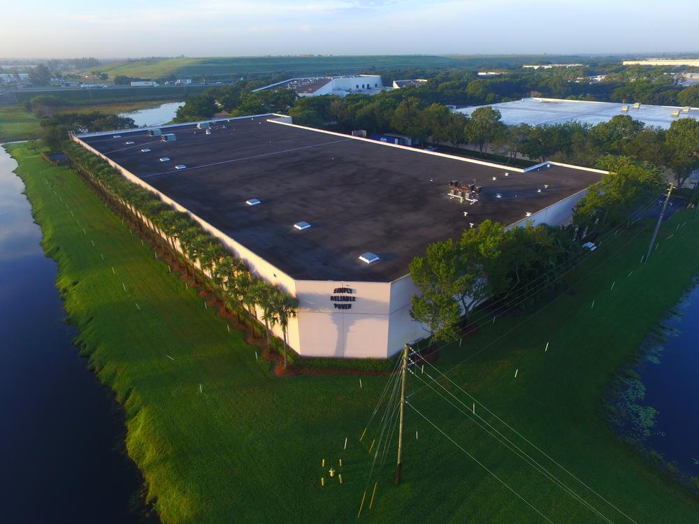 Our Warehouse in Miramar, Florida.