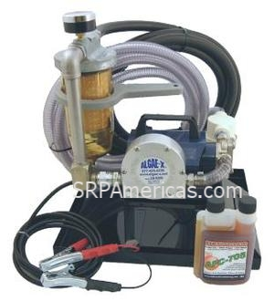 Portable Tank Cleaning & Fuel Transfer System