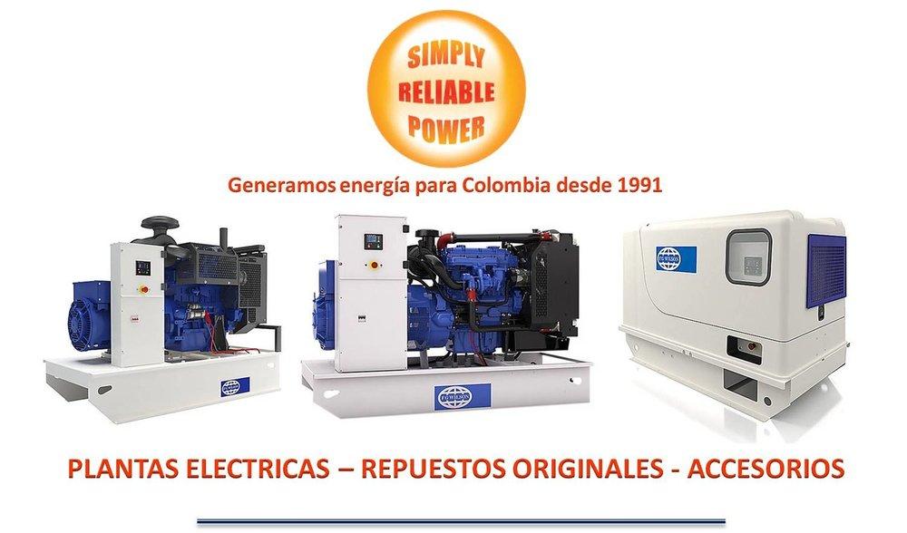 Distribuidores AutorizadosFG Wilson & Mitsubishi - + 500 Plantas Electricas disponibles para despacho inmediato.+$3M en inventario de Repuestos Originales+25 años en el mercadoSoporte Local - EntrenamientoINVENTARIO LOCAL EN BOGOTA