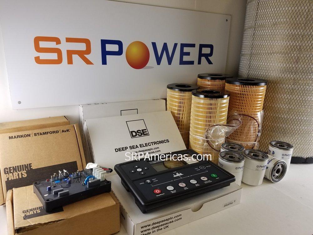 Repuestos Originales para nuestros generadores eléctricos SR Power