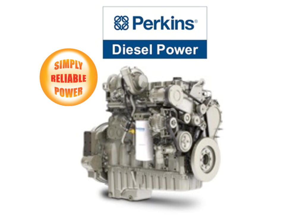 Simply Reliable Power carries One Million Dollars of Perkins Engines in inventory to support the over 50,000 generators it has sold over the years. -