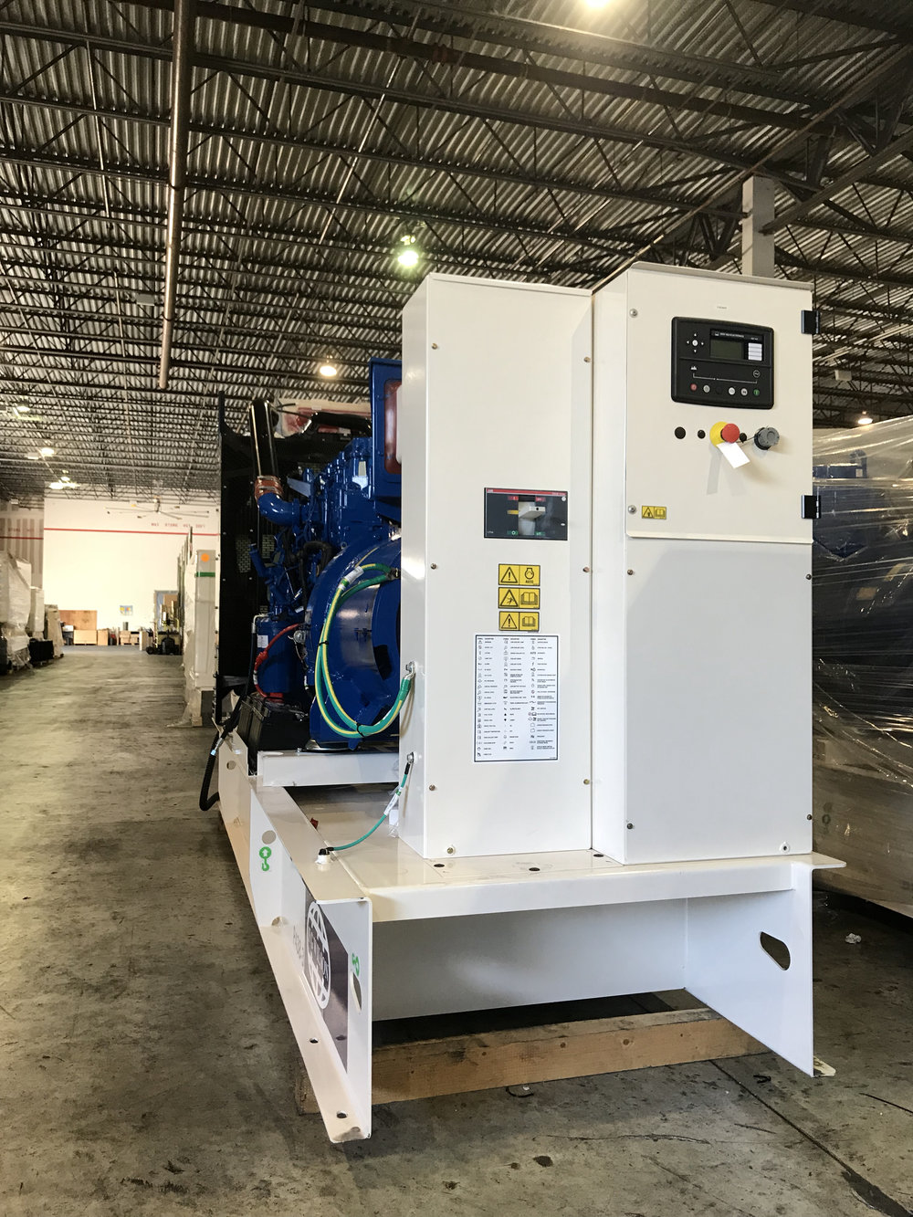FG Wilson Genset with a Deep Sea Panel
