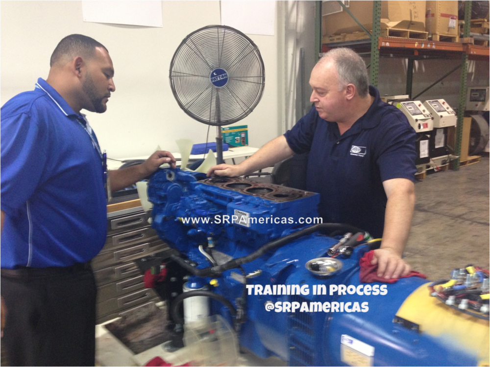 Power generator training