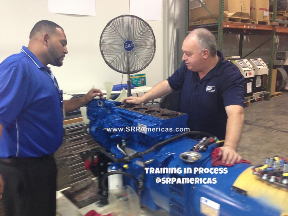 Power generator training