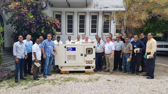 It's always a pleasure to be where our customer are. Here in Dominican Republic.