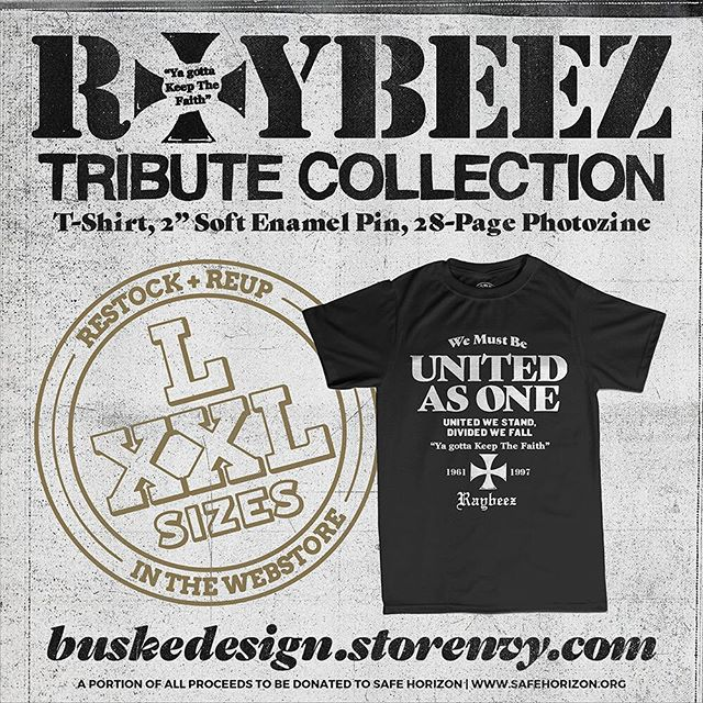Restocked L and XXL in the webstore.