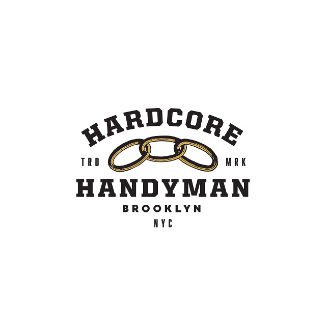 Recent logo and business card for @hardcore_handyman_nyc. Give him a follow. Support those who support you. Thanks Frank!!! #buskedesign #bskdsgn #typetopia #typespire #typedaily #typegang #typematters #tyxca #differentype #goodtype #logo #logotype #logosai #logodaily #logospire #logo_showcase #logospiration #logo4show #designspiration #gfxmob #badgedesign #brooklyn #nyc #hardcorehandyman