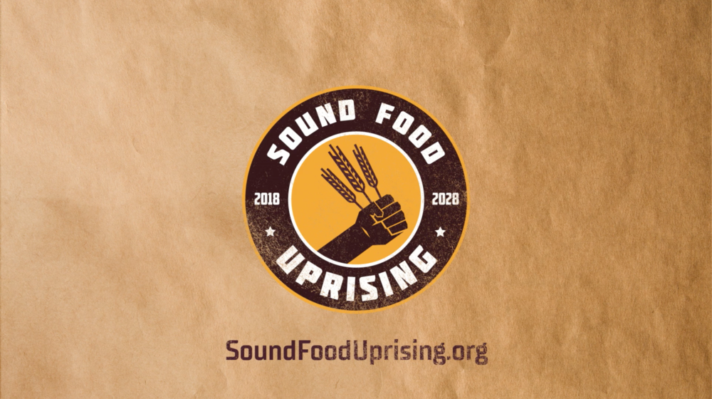Sound Food Uprising  Branding & ad campaign concept development. // For Beecher's Foundation via Copacino + Fujikado