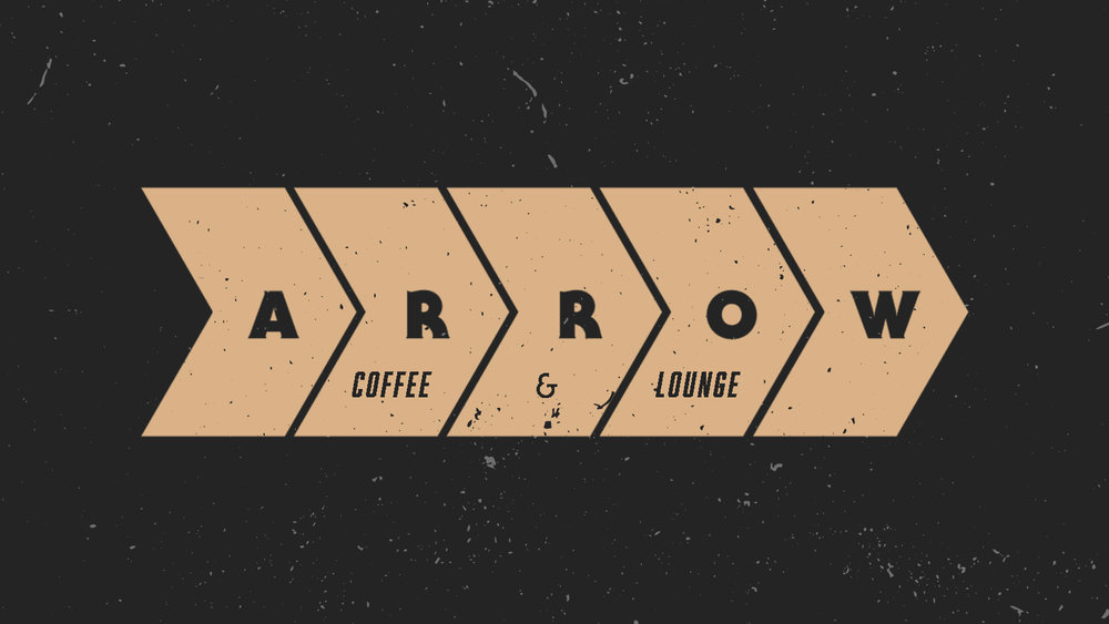 Arrow Coffee  San Diego, CA brand identity package. // For Arrow Coffee & Lounge via Tuning Fork Consulting
