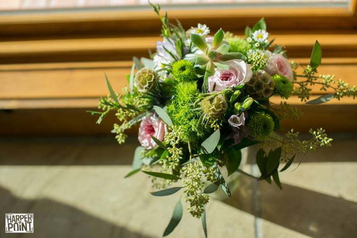 Botanical Cascaade Bridal Bouquet