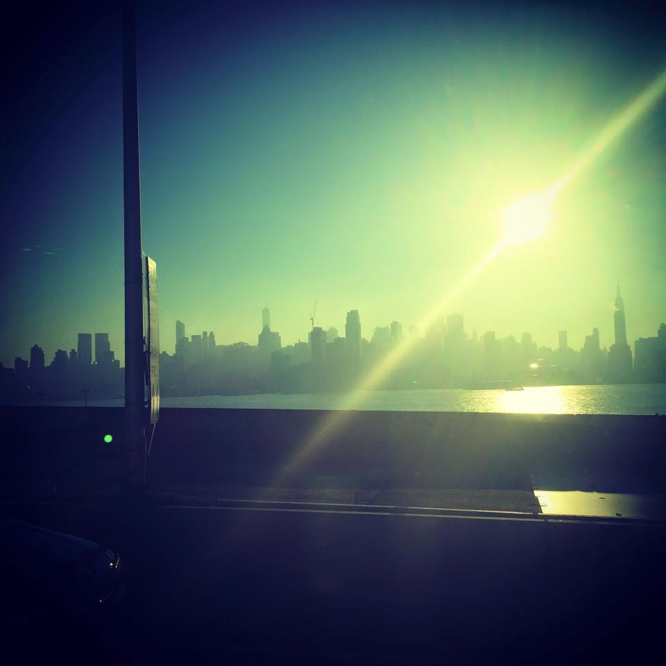 The best part of living in a bus my view each morning constantly changing