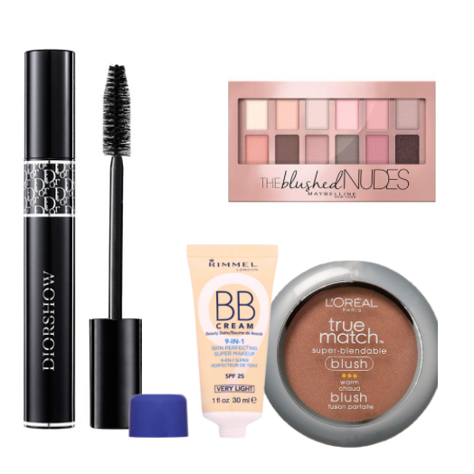 I do not have time to fuss with makeup, plus being in the heat it is a mess. These four products are lifesavers for me. Put them on in the morning and I am good to go.