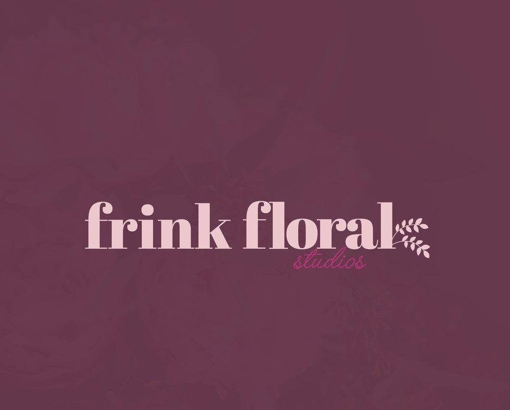 Frink Floral Studios  Brand | Print