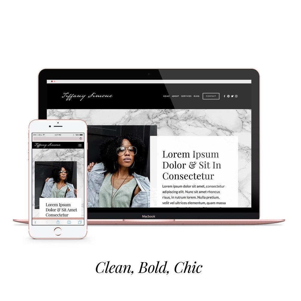 tiffany simone  styled website  $450