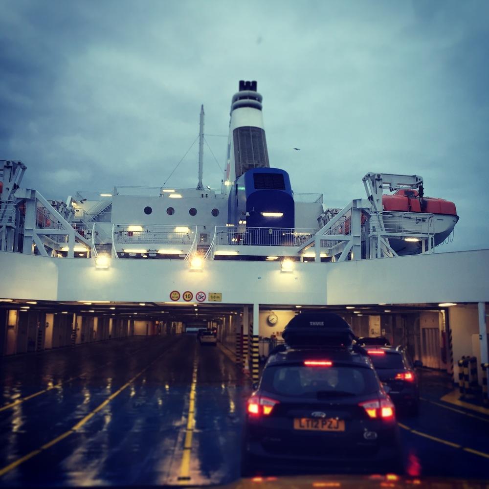 Car Ferry to Caen