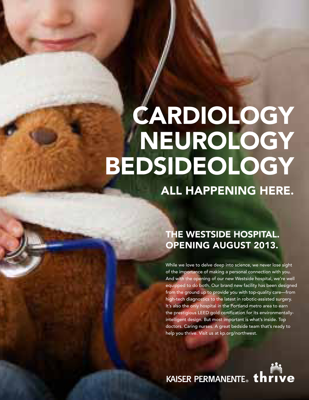 CONSUMER AD KP WESTSIDE HOSPITAL