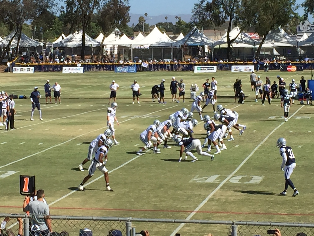 NFL Training Camp, OXNARD, CA 2015