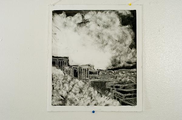 "A Bigger Picture  Monochromatic Print w/ Negative  18.5"" x 11""   Davie, Fl Oscar E Rodriguez 2009  Photo: Mike Little Photography"
