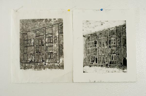 "A Dream of Venice  Monochromatic Print w/ Negative  8.5"" x 11"" Davie, Fl Oscar E Rodriguez 2009  Photo: Mike Little Photography"