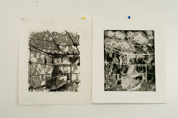 "- > +  Monochromatic Print w/ Negative  8.5"" x 11"" Davie, Fl Oscar E Rodriguez 2009  Photo: Mike Little Photography"