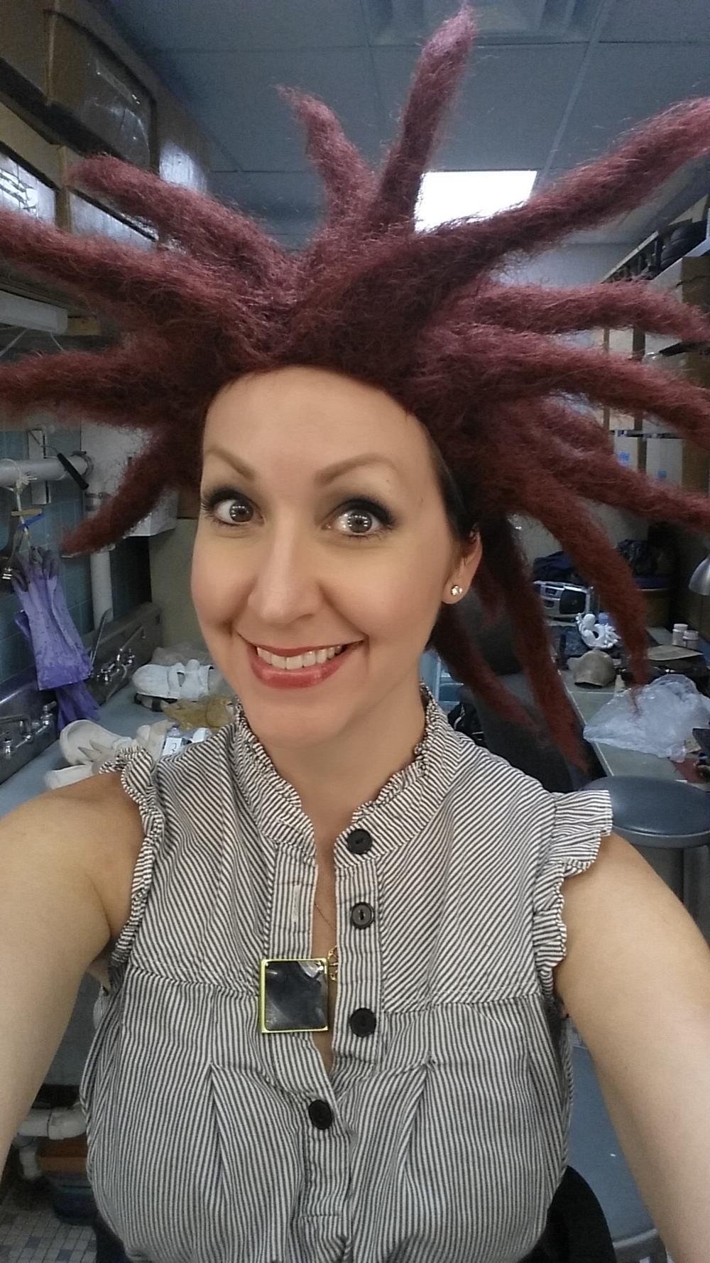 Sideshow Bob wig! :)