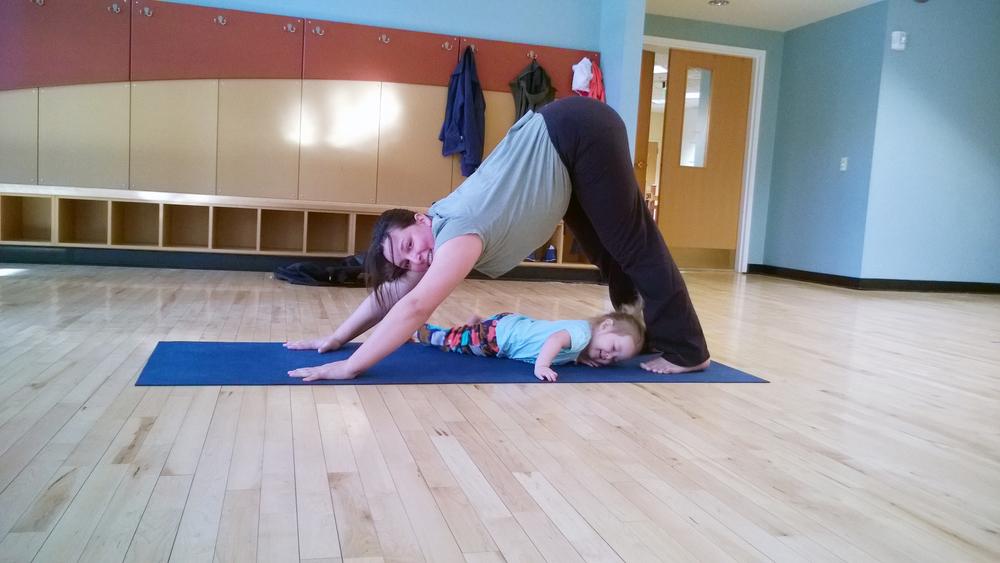 Yoga play.