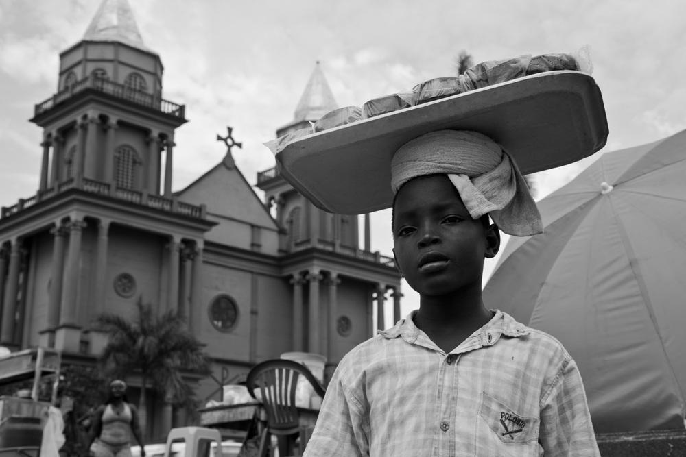 Con la esperanza en la cabeza.Quibdó, Colombia (2014).