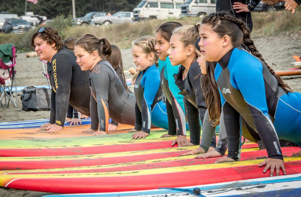 Crescent City Surfer Girls