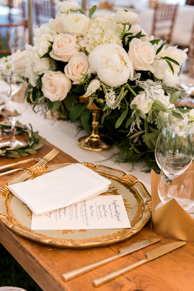 Monochromatic Centerpiece