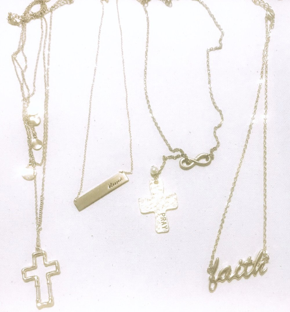 "kairos collection - ""I adorned you with jewelry: I put bracelets on your arms and a necklace around your neck…"" Ezekiel 16:11"
