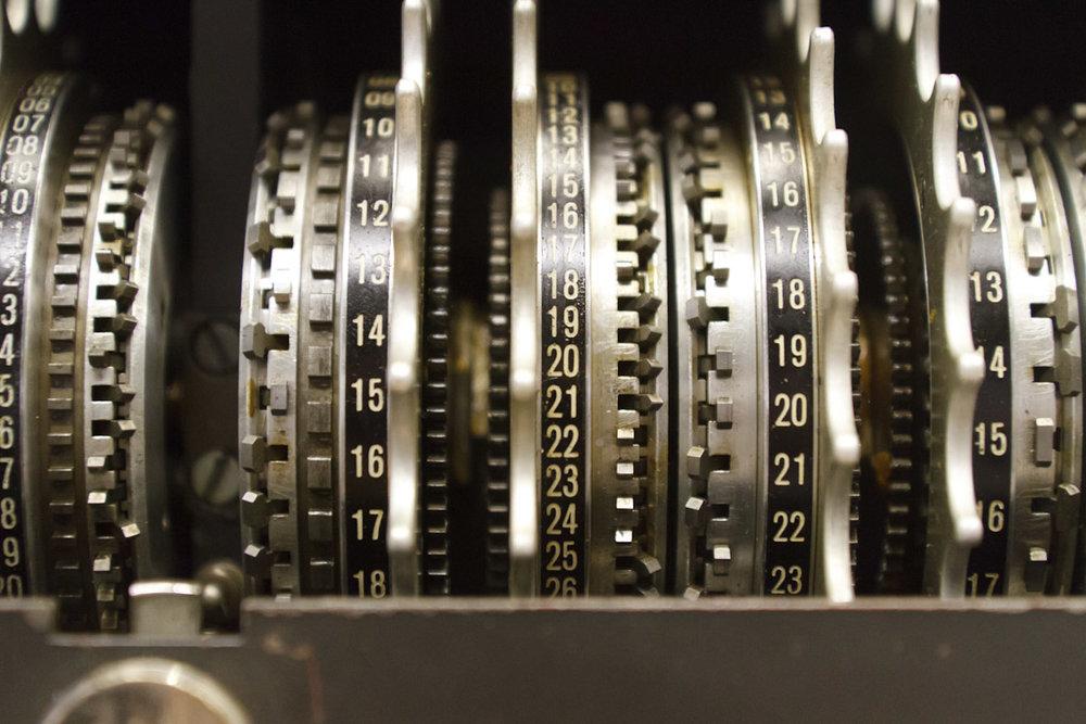 Codebreakingmachinecogs