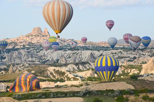 Cappadocia_hot air balloons