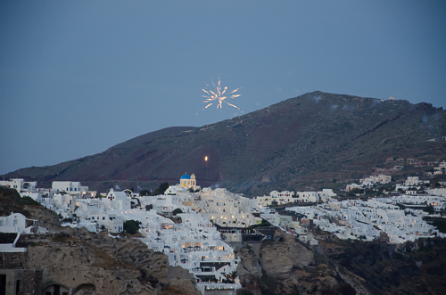 Orthodox Easter celebrations in Oia