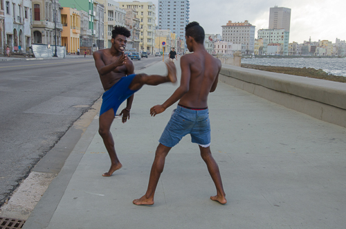 Fight Club, El Malecón